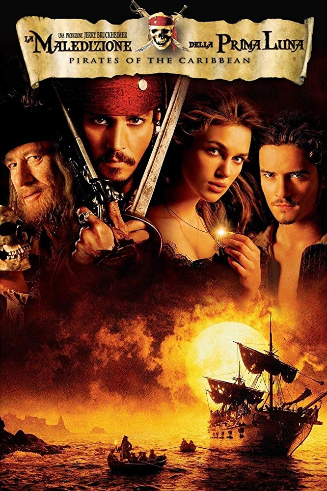Pirates Of The Caribbean Curse Of The Black Pearl 2003 Sailing Movies